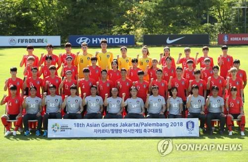 대한민국 남녀 축구대표팀