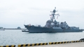 L'USS Mustin à Busan