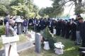 Hommage à un défunt ouvrier sud-coréen