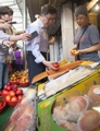 Finance minister inspects prices