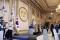 الرئيس مون يجتمع مع أحفاد المقاتلين لاستقلال الوطن