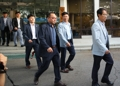 El equipo de avanzada surcoreano parte hacia Corea del Norte para las reuniones de las familias sepa..