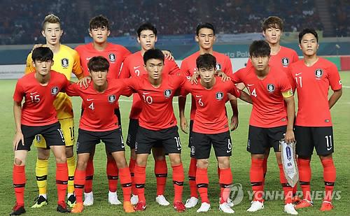 [아시안게임] 김학범호, 말레이시아와 2차전도 '붉은색 유니폼'