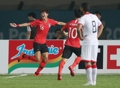 アジア大会 6—0で白星発進