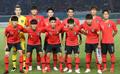 La selección masculina de fútbol para los JJ. AA.