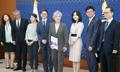 韓日の民間交流拡大策を報告