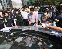 설정 스님 유전자검사 사진 던지는 불교개혁행동