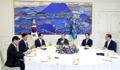 Moon y los líderes parlamentarios
