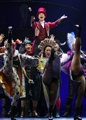 Stars of musical 'Barnum'