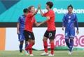 サッカー韓国女子 白星発進