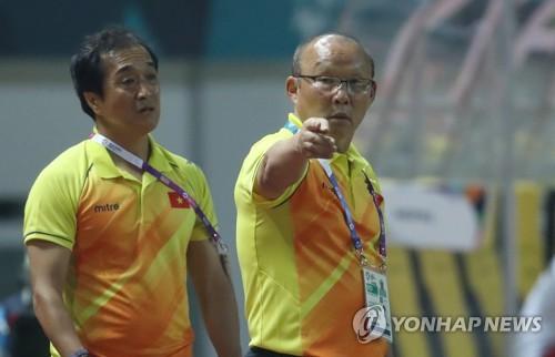 -아시안게임- 박항서호 베트남, 네팔 꺾고 2연승…3회 연속 16강