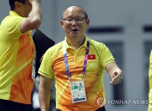 -아시안게임- '박항서호' 베트남, 네팔 꺾고 2연승…'3회 연속 16강'