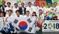 دخول رياضيون جنوبيون إلى قرية الرياضيين لآسياد إندونيسيا