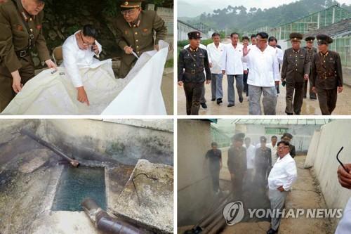 北김정은, 원산갈마 시찰…관광지구, 제재봉쇄 맞선 대결전
