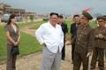 زعيم كوريا الشمالية في زيارة ميدانية