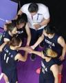 Equipo femenino de baloncesto de las dos Coreas