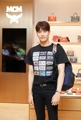 Actor Sung Hoon with MCM