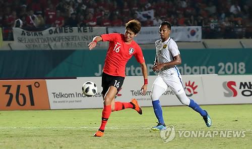 아시안게임 한국-말레이시아전 실시간 시청률 15.19%