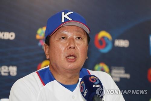 """[아시안게임] 야구대표팀 첫발…선동열 감독 """"방심하지 않겠다"""""""