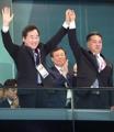 Primer ministro surcoreano y vice primer ministro norcoreano