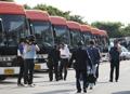 離散家族再会行事 韓国側参加者が出発