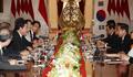 El primer ministro surcoreano y el presidente indonesio