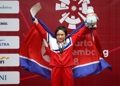 北朝鮮勢初の金メダル
