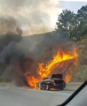 BMW vehicle fire