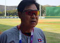 S. Korean head of Laos baseball team in Asiad