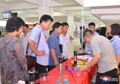 Goods exhibition in N. Korea