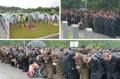 Kim Jong-un à des funérailles
