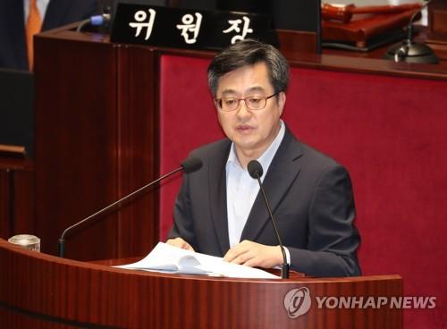"""김동연, 文대통령 '직 걸라'에 """"전적으로 제 책임"""""""