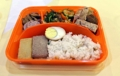Boîte à repas pour les familles séparées