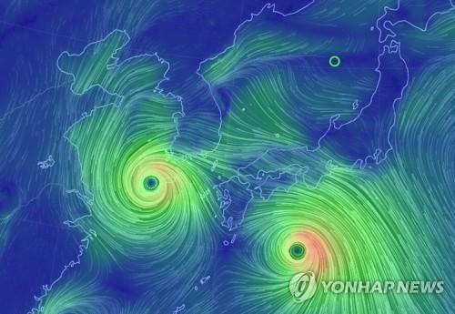 태풍 '솔릭' 북상