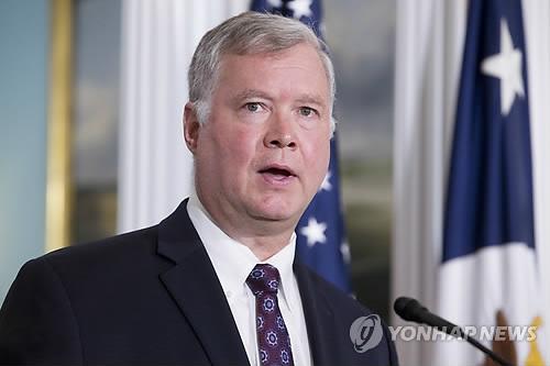 비건 美대북정책특별대표, 10~15일 한중일 첫 방문(종합)