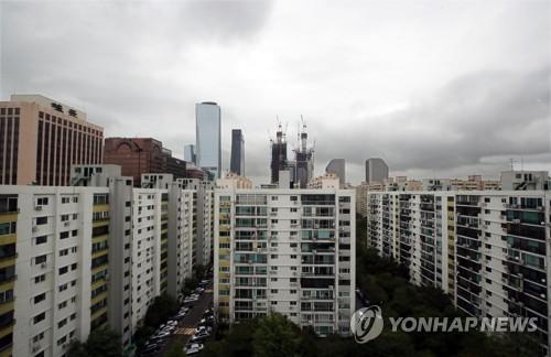 서울지역의 한 아파트