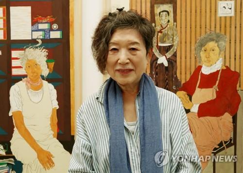 여성주의 작가 윤석남 '어머니Ⅲ' 美초상화미술관 전시