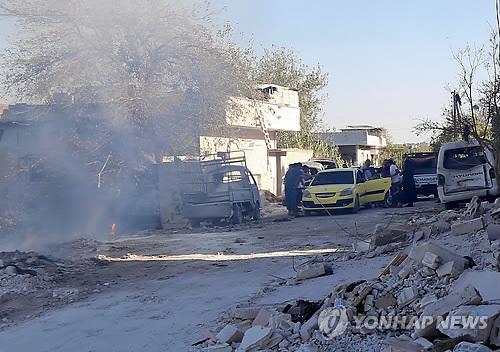 시리아 북서부 이들립 반군 거점 지역 모습 [AFP=연합뉴스 자료사진]