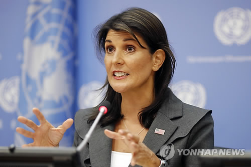 U.S. envoy to United Nations accuses Russian Federation of violating NK sanctions