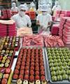 Pasteles para el festivo del Chuseok