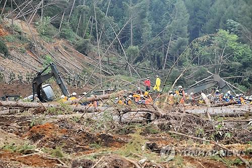 日홋카이도 강진 농림수산 피해액 4천억원 육박