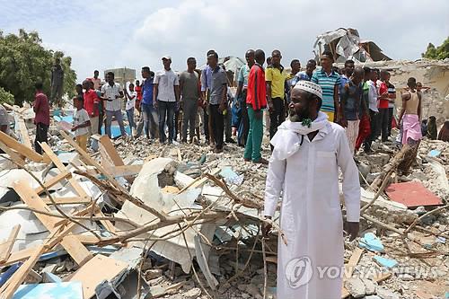 소말리아 수도서 또 자살폭탄 테러…최소 6명 사망