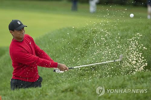 우즈, PGA 투어 BMW 챔피언십 공동 6위