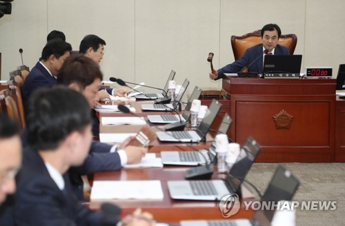 국방위, 국방장관 인사청문회 채택 관련 전체회의