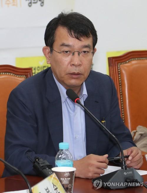정의당 김종대 원내대변인