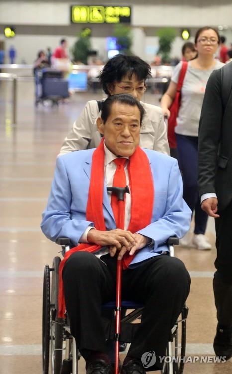'방북' 이노키 일본 의원 베이징 경유