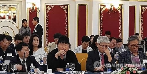 베트남 법인 설명하는 한세민 SM엔터 대표