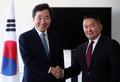 Le PM et le président mongol