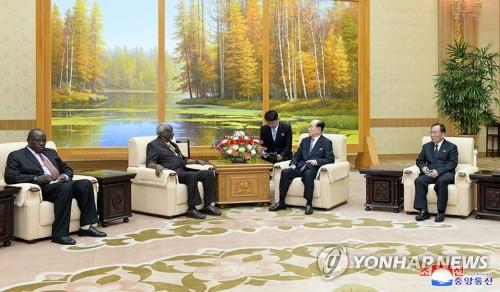 Ugandan president's special envoy visits N. Korea