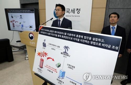 국세청, 국부유출 역외탈세 세무조사 착수